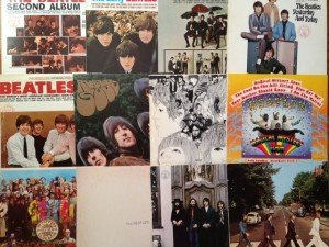 Nancy's Vinyl Beatles Collection