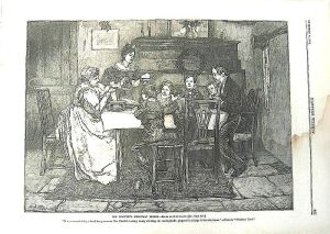 Dinner at the Crachits from A Christmas Carol by Charles Dickens