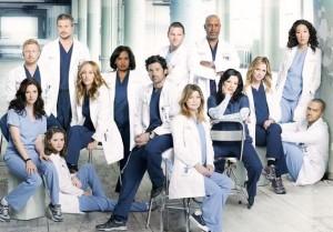The Grey's Anatomy famly