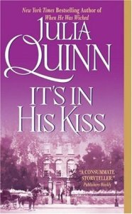 It's In His Kiss is book 7 in Quinn's Bridgerton series.