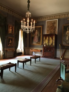The beautiful Regency-era music room at Kenwood House outside London. Photo (c) 2015 J. Covington