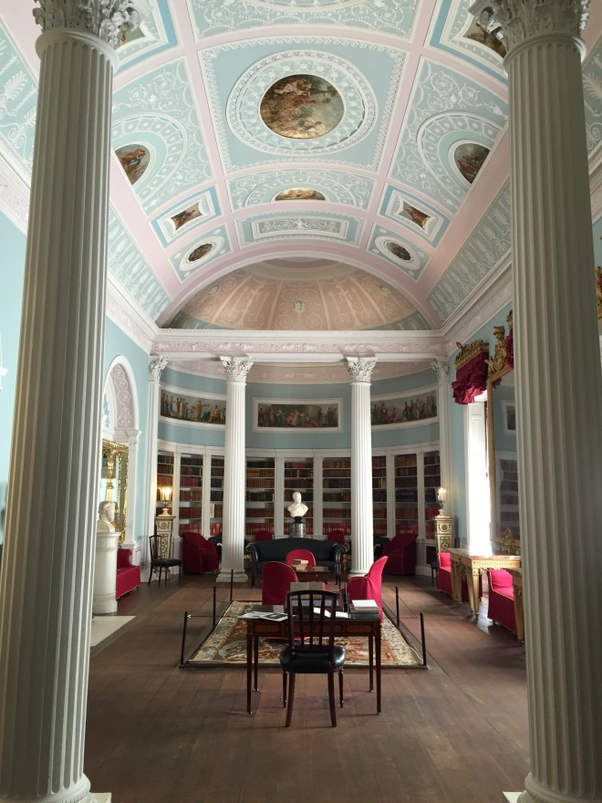The newly restored library at Kenwood House. Photo © 2015  J. Covington.