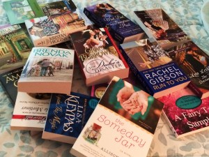 Additions to my TBR pile, courtesy of the RWA Conference