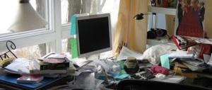 Jenny's desk (from Facebook)