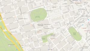 Mayfair, London, UK courtesy Google Maps (c) 2105.