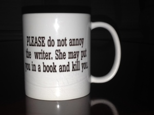 Nancy's official NaNoWriMo (and life) avatar.