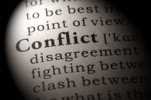 conflict word