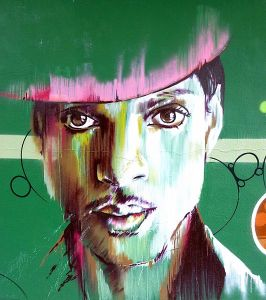 graffiti of Prince