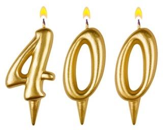 Celebrating 400