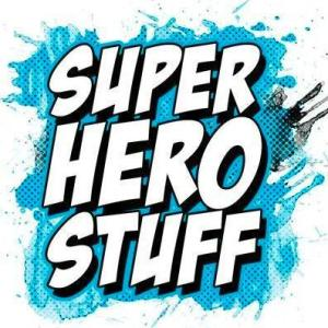 The SuperHeroStuff official company logo by Brian Welch