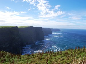 The cliffs in Ireland - In case you need some writing inspiration ©Eldridge Photography