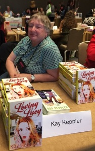 Here I am, not a failure, at the indie author signing, RWA 2016.