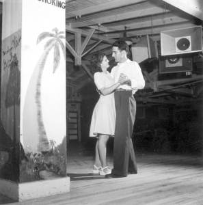 Al and Roey Stickles dancing at the trailer park: Sarasota, Florida 1946. Photo courtesy of State Library and Archives of Florida - https://www.flickr.com/photos/floridamemory/7157828142/