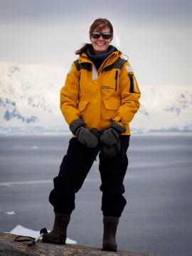 Ellen in Antarctica