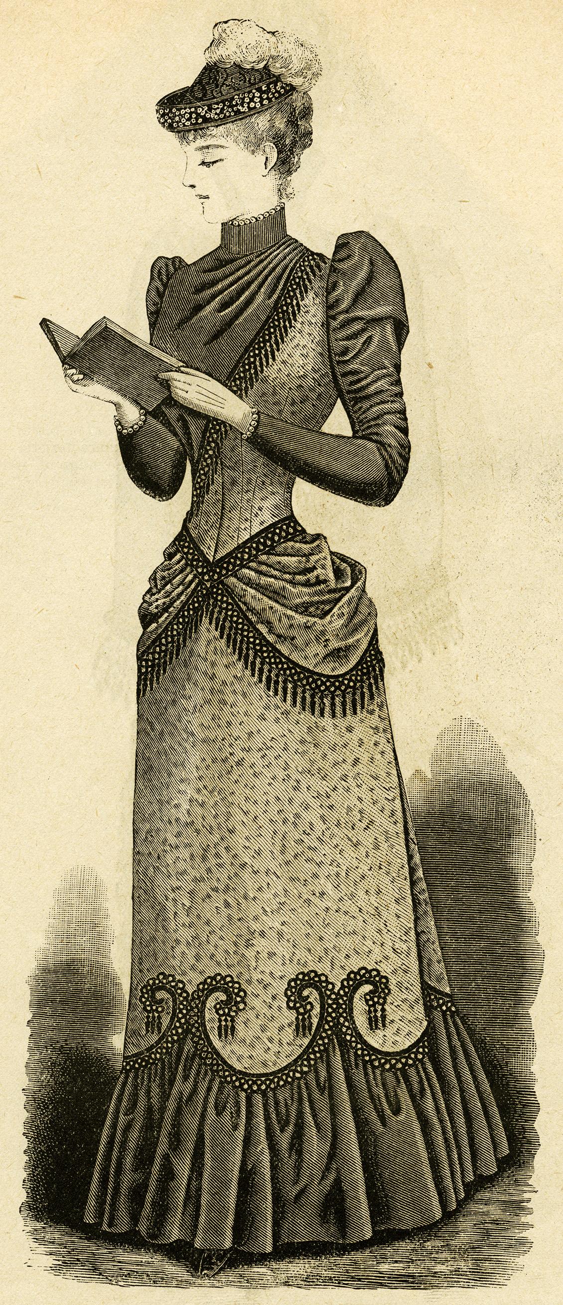 Victorian Reader Drawn
