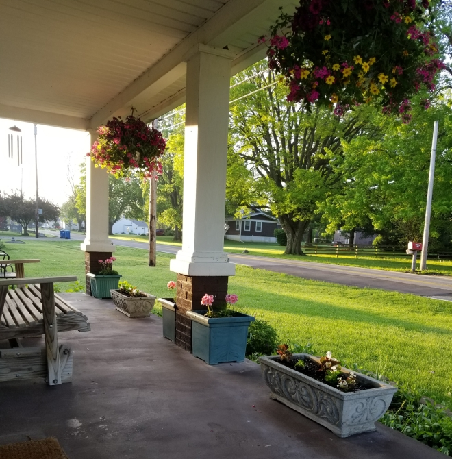 Front Porch Flowers 2019