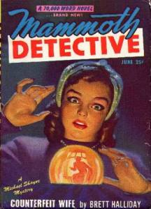 A young fortuneteller sees a male shadow with a gun in her crystal ball.