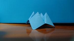 Picture of a prepared fortune teller