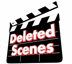 Deleted Scenes Movie Film Clapper Board Bloopers 3d Illustration